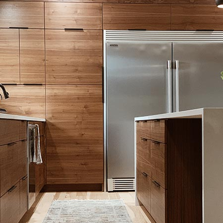Dark Wooden Kitchen Design | Adam Peters Construction