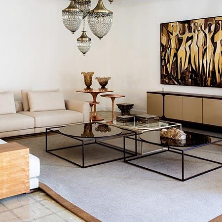 Living Room Foyer | Adam Peters Construction