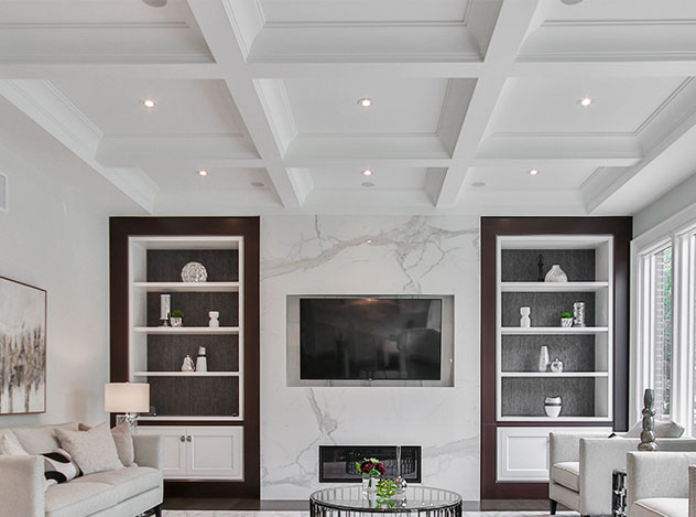 Entryway Ceiling Trims | Adam Peters Construction
