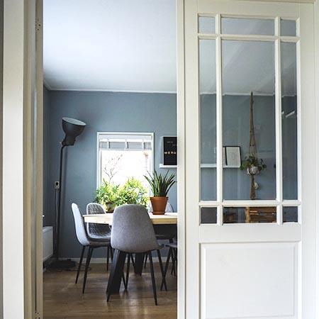 Interior Doors - Dining Room | Adam Peters Construction
