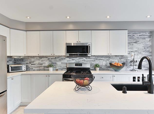 Textured Kitchen Remodel | Adam Peters Construction