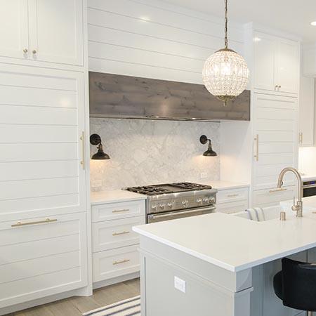White Kitchen Renovation | Adam Peters Construction