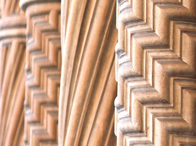 Column Textures | Adam Peters Construction