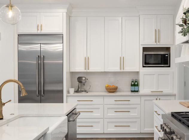White Kitchen Remodel | Adam Peters Construction
