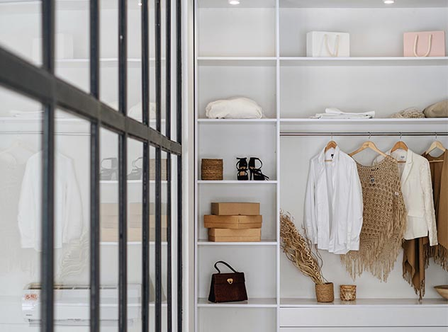 Built-In Closet | Adam Peters Construction