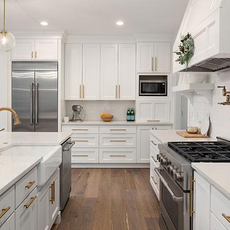 White Kitchen | Adam Peters Construction