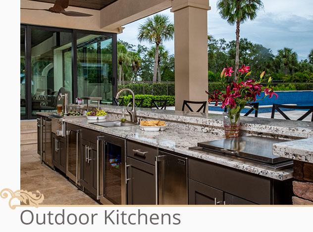 Outdoor Kitchens | Adam Peters Construction
